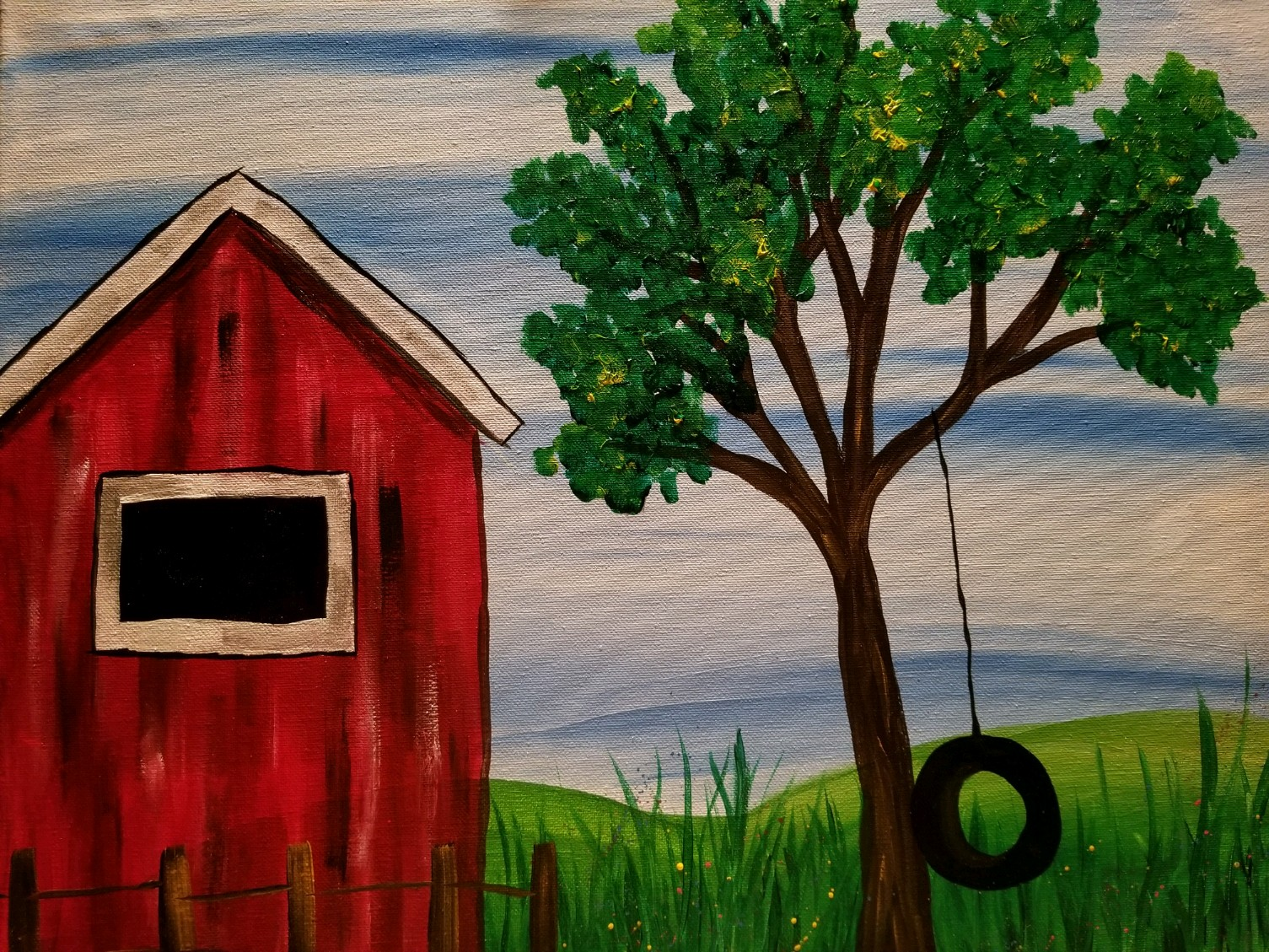 Gaudy Giggles Painting Class