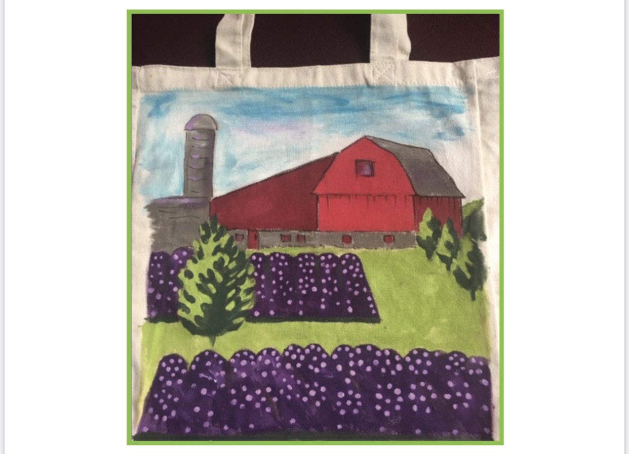 Canvas Tote Painting Class