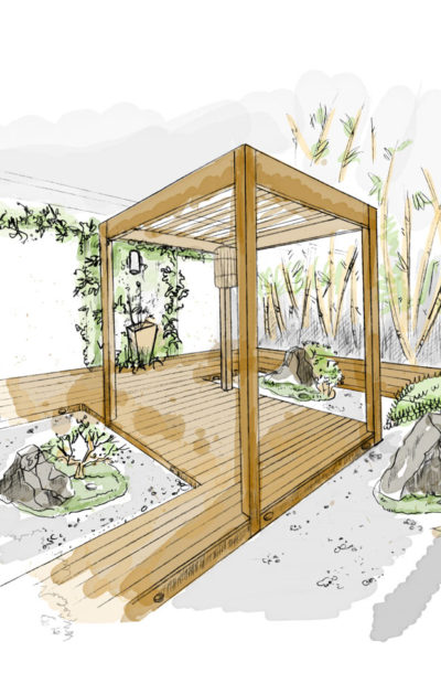 Zen Garden by Jahkomo