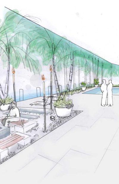 Intercoastal Waterway Garden Landscape Design