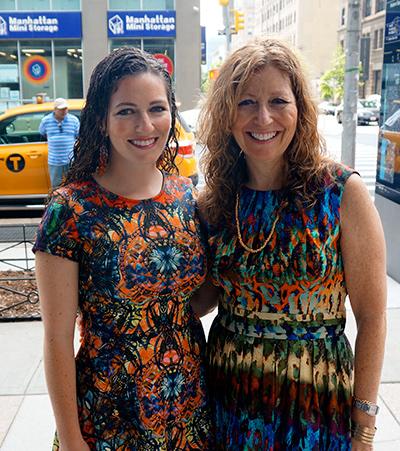 Dr. Elizabeth Spindel (right) with her daughter, Dr. Victoria Spindel Rubin (left)