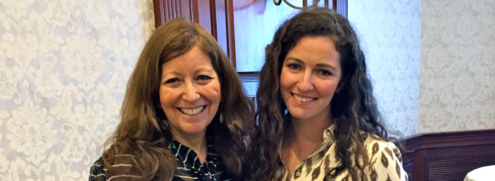 photo dr victoria spindel & dr elizabeth spindel