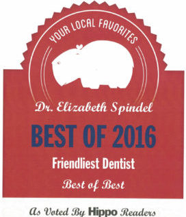 Friendliest Dentist Hippo Award