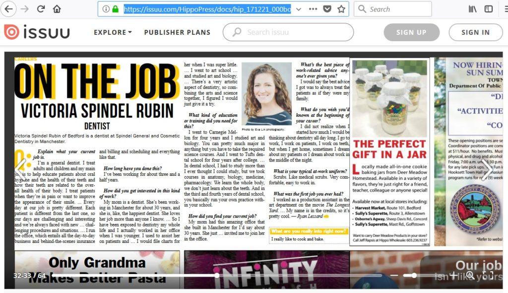Victoria Spindel Rubin interview at HIPPO Press