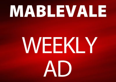 Mablevale February 26- March 3