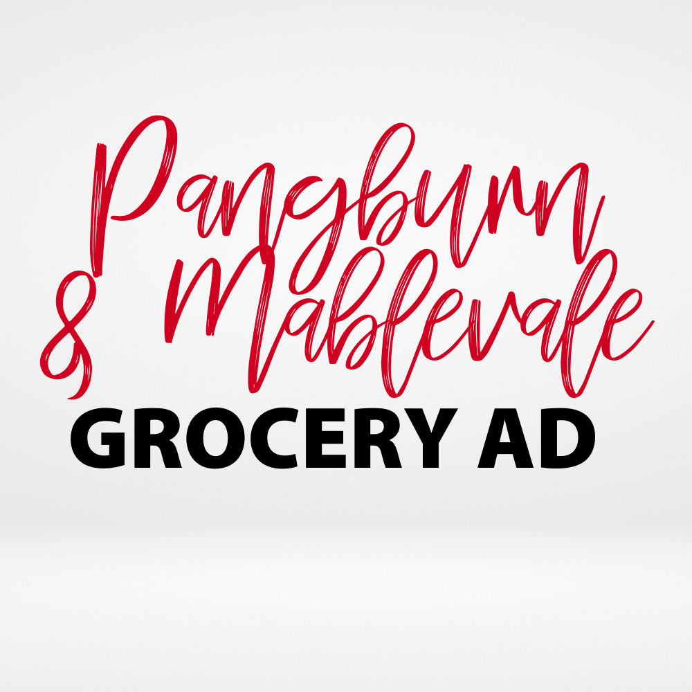 Pangburn/Shannon Hills Weekly Ad