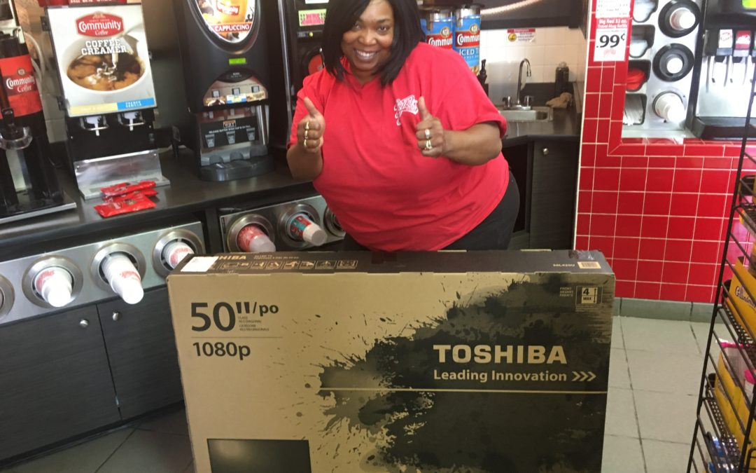 Big Red Managers Win 50 Inch Flatscreens