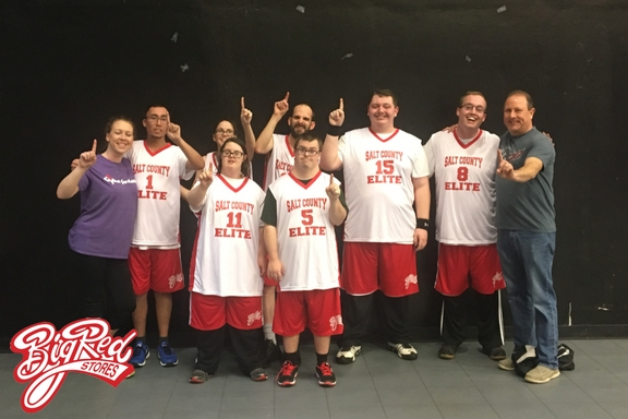 Big Red Sponsors Special Olympics State Championship Winners