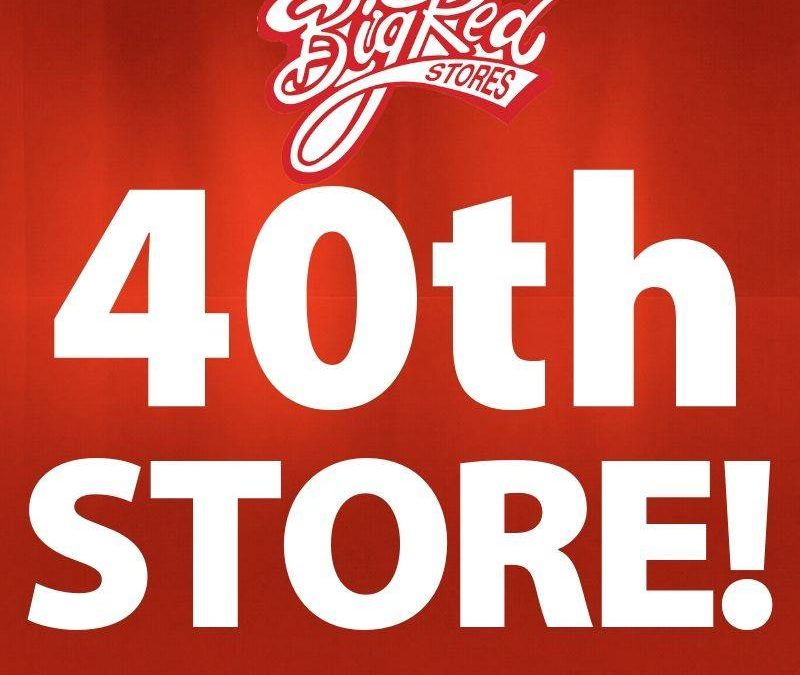 Big Red Stores Opens 40th Store Location In Central Arkansas