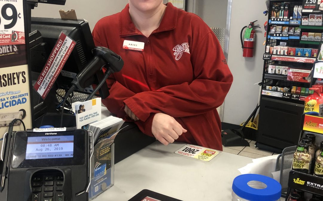 2019-2020 Big Red Stores- Family Market Scholarship Recipient