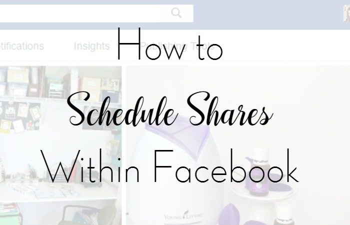 How to Schedule Shares Within Facebook