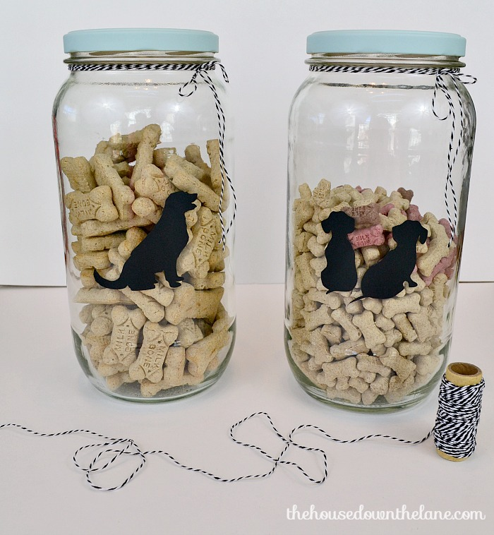 2 Simple DIYs for Pet Food Storage | The House Down the Lane