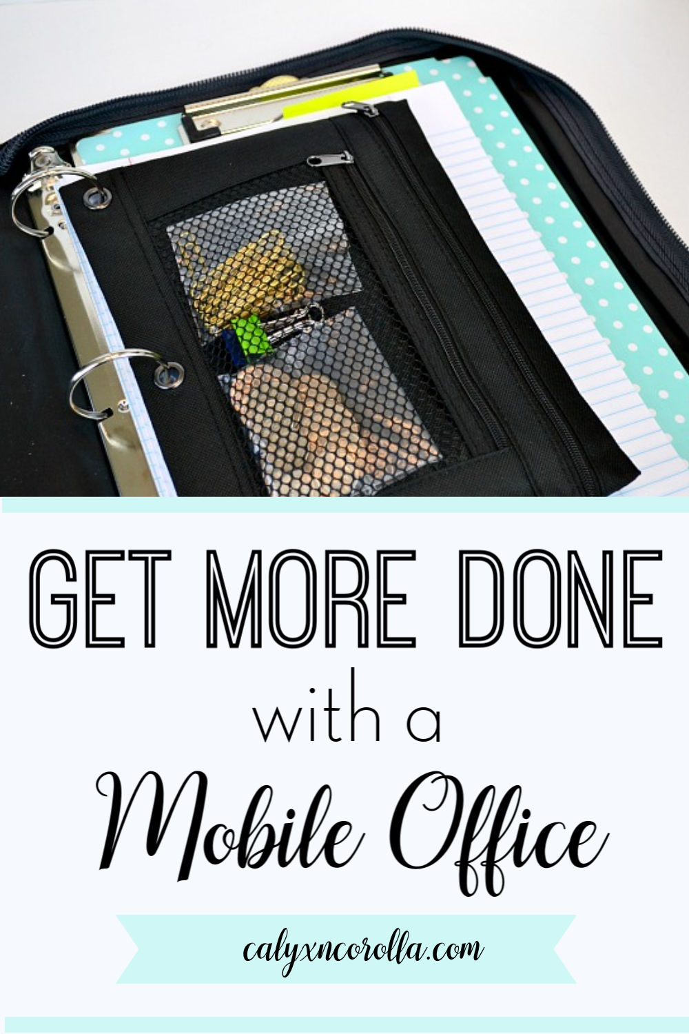 Get More Done with a Mobile Office