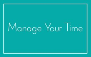 Manage Time Teal Adele