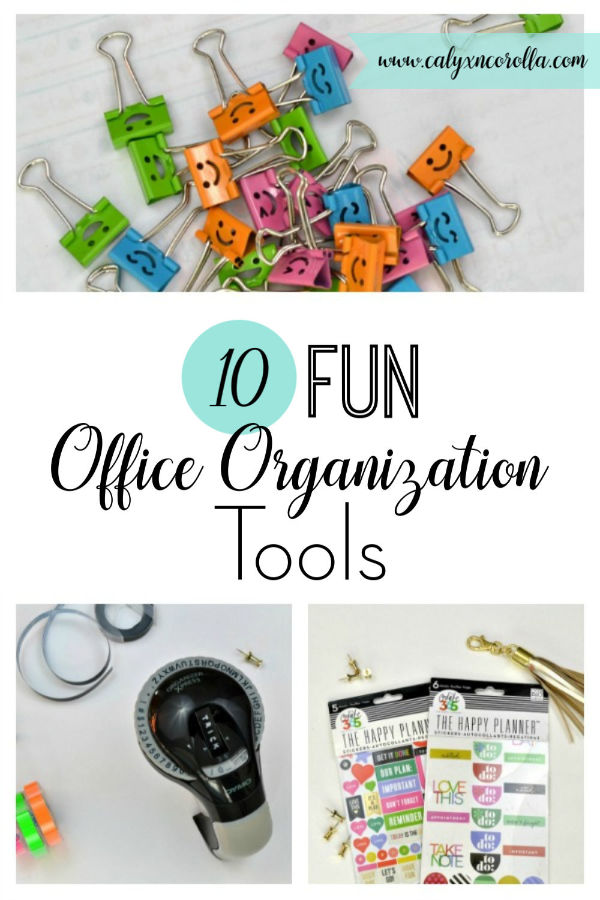 10 Fun Office Organization Tool | Calyx and Corolla