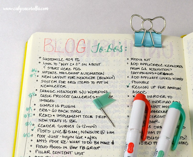 Getting started on a bullet journal can be overwhelming and intimidating, so I'm sharing the things I learned in my first year of bullet journalingto help you know what to expect, to plan more efficiently, and to share my new-found love of this planning tool! #bulletjournal #bujo #planner