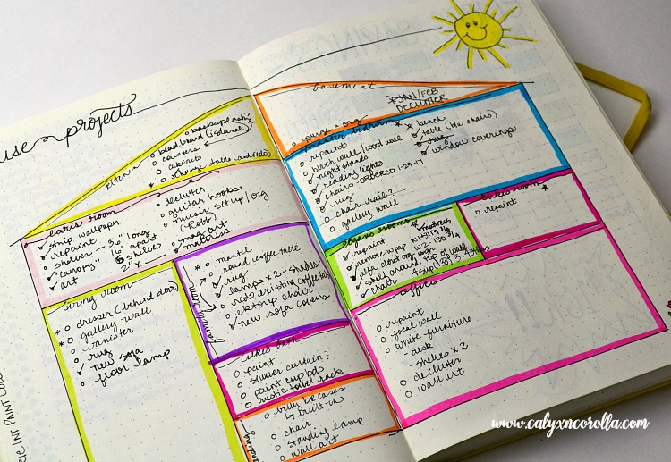 Getting started on a bullet journal can be overwhelming and intimidating, so I'm sharing the things I learned in my first year of bullet journalingto help you know what to expect, to plan more efficiently, and to share my new-found love of this planning tool! #bulletjournal #bujo #planner #bujocollection