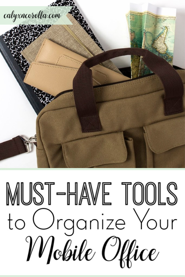 Must-Have Tools to Organize Your Mobile Office | Calyx and Corolla