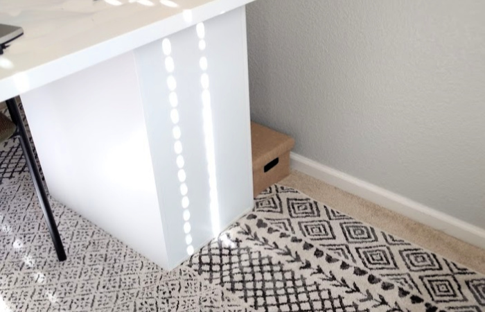 An Easy and Affordable Solution for Office Cord Clutter