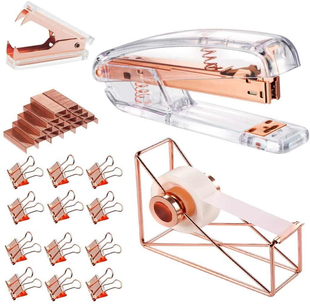 Functional and Fun Copper Office Accessories from Amazon | Calyx and Corolla