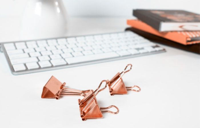 Functional and Fun Copper Office Accessories from Amazon