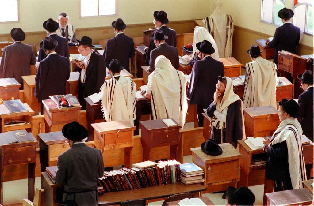 Yeshiva Morning prayers