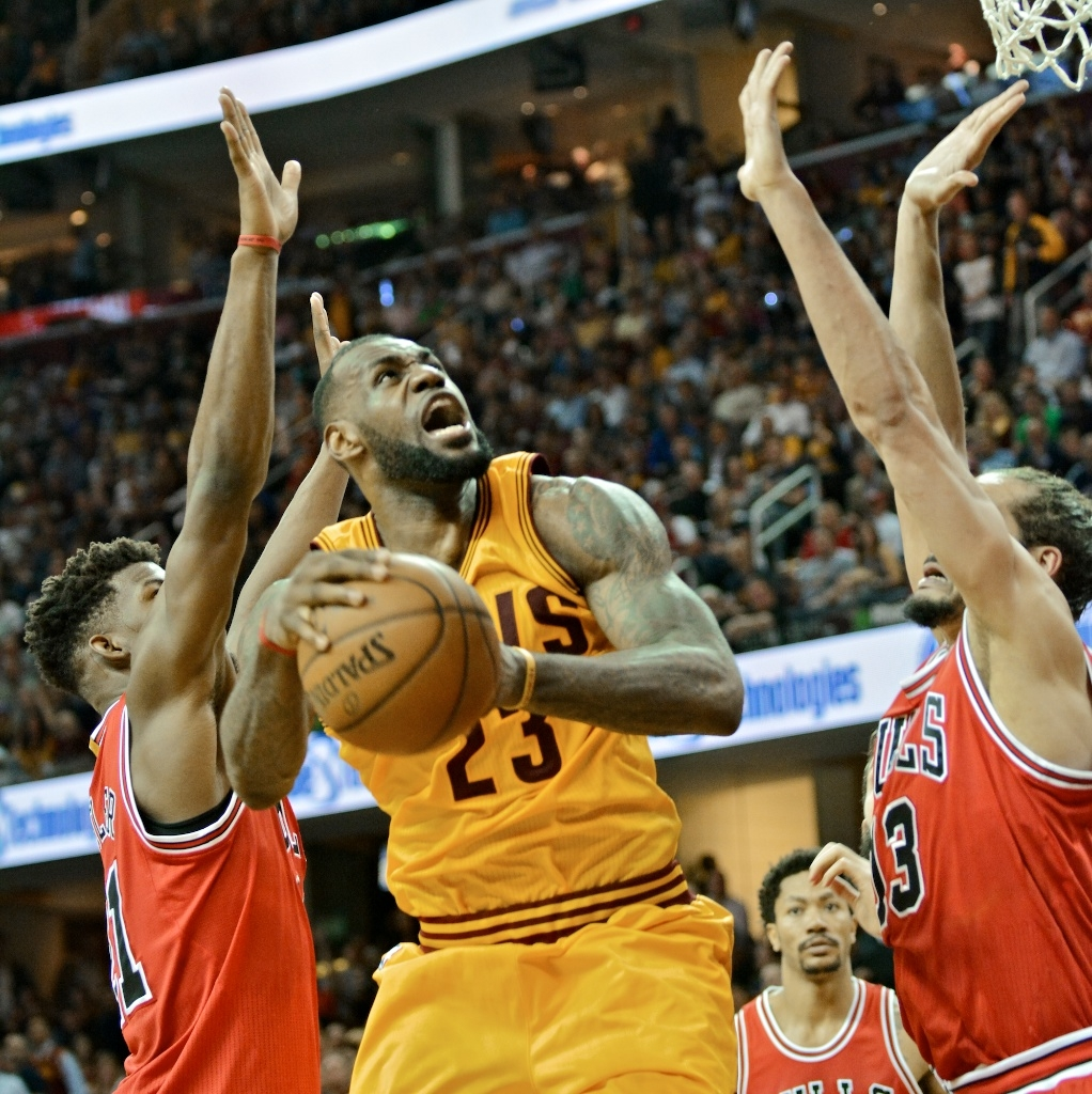 LeBron James, Cavs Game 4 win over the Bulls
