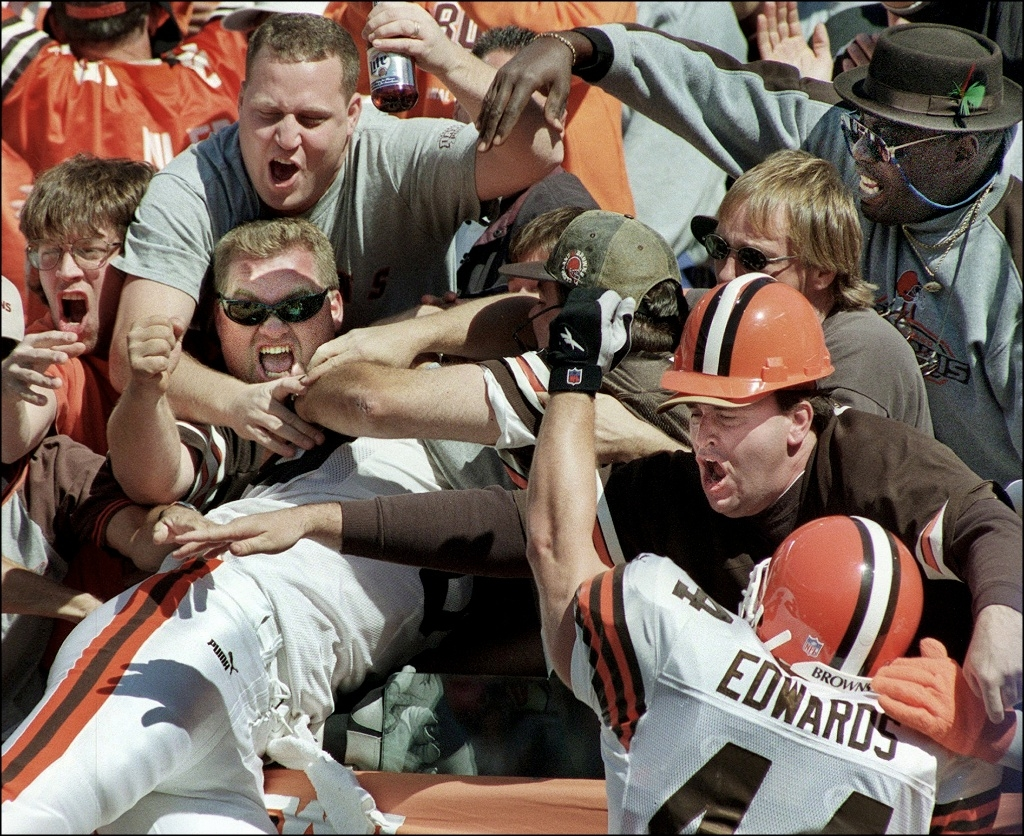 Browns Touchdown Celebration