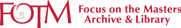 Focus on the Masters Archive & Library