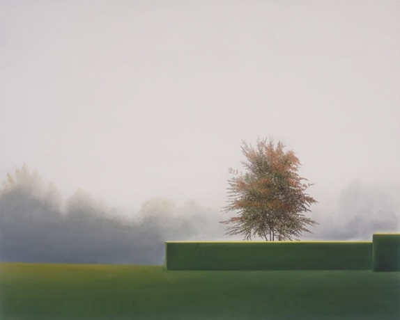 "Silence by Astrid Preston, 2002 oil on canvas, 28"" x 35"""
