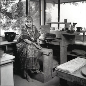 Beatrice Wood in her studio by Marline Wallace