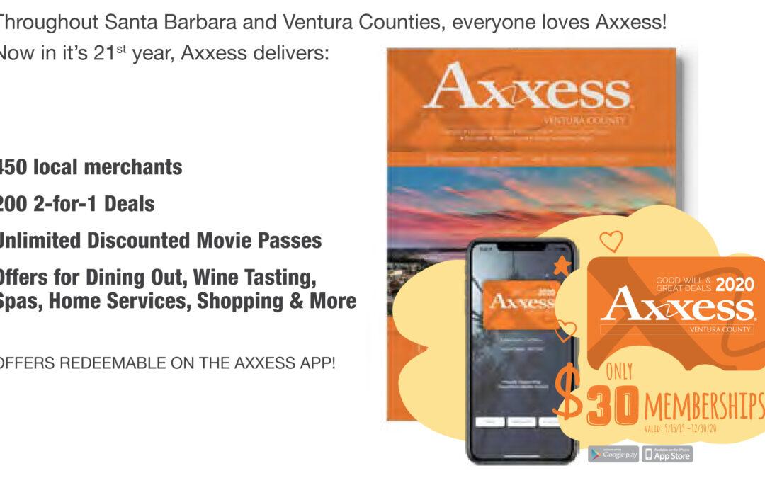Order your Axxess Book Online!