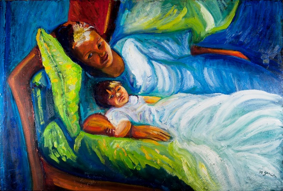 After the Nap by Margaret Garcia