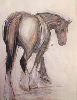 """""""Horse"""" by Katie Van Horne"""