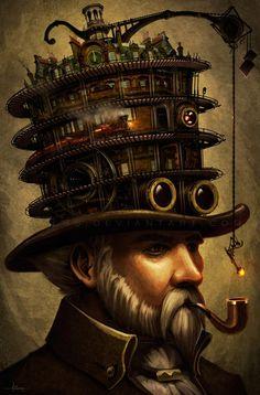 Steampunk Dada Electric Carnival Gala