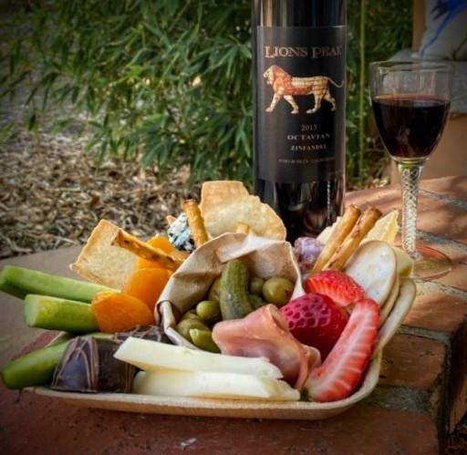 Wine tasting with Jennifer Soni Arant of Lions Peak Wines