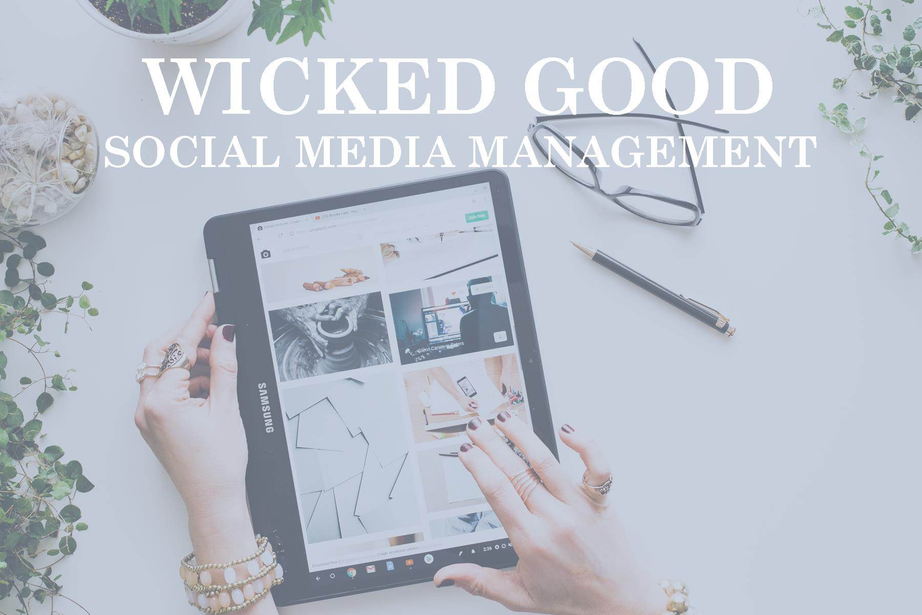 Wicked Good Social Media Management Packages
