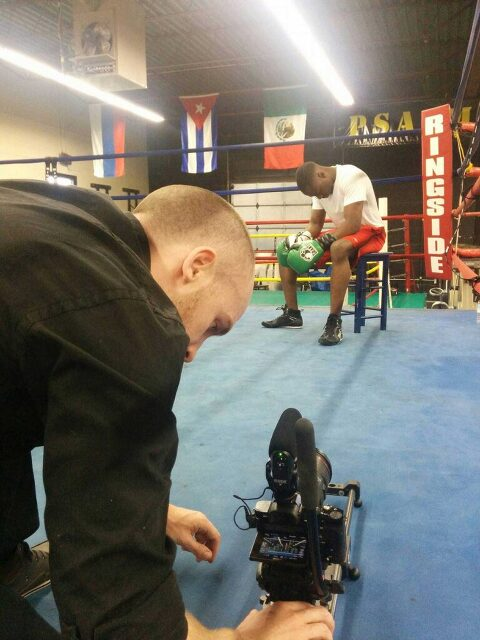 boxer promo filmed by a videographer based in mississauga