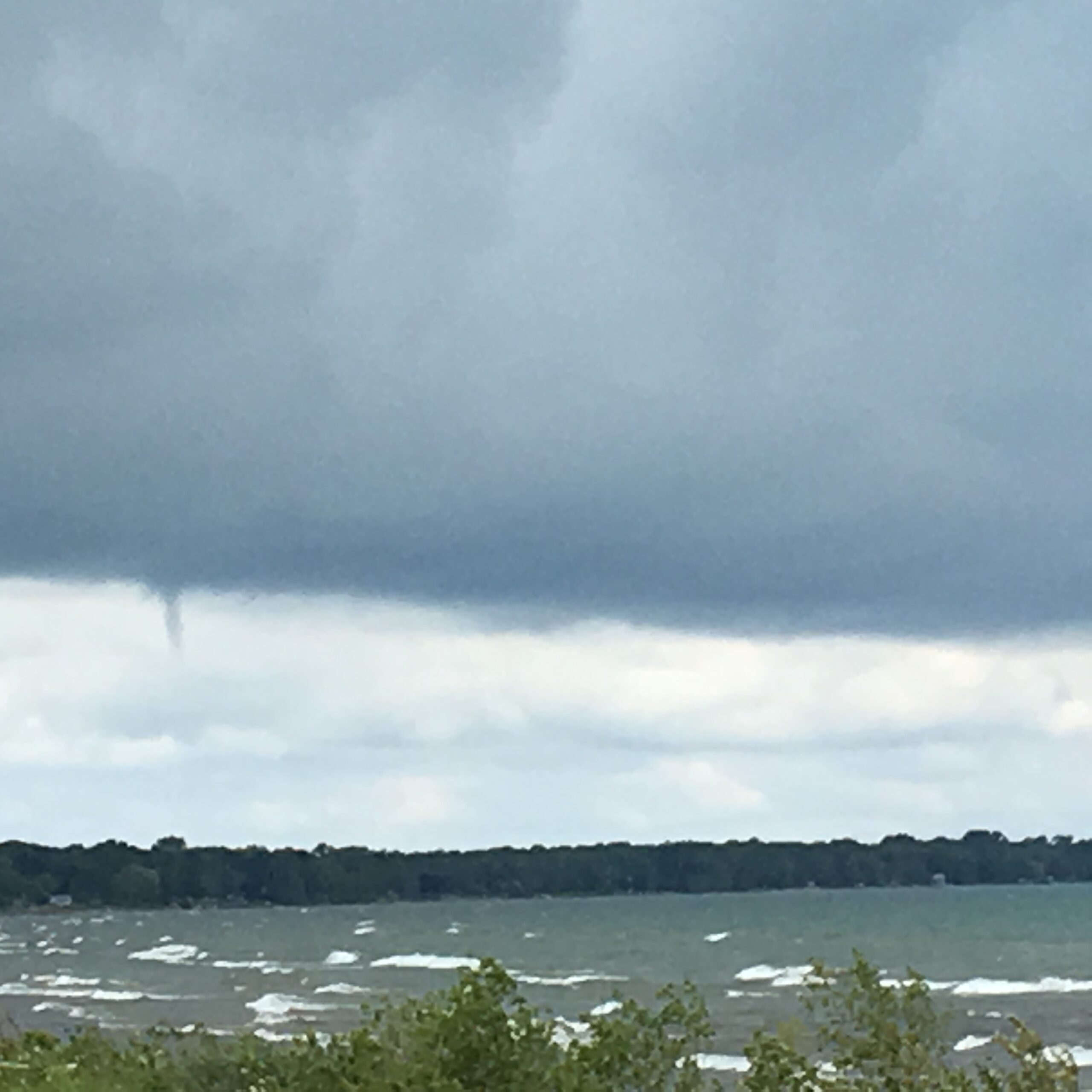 Funnel Cloud over Kettle Point