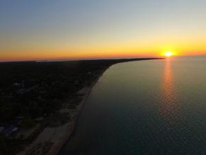 Last Sunset of the Summer @ Ipperwash Rd - Boat Ramp | Lambton Shores | Ontario | Canada