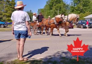 Ipperwash Canada Day Parade