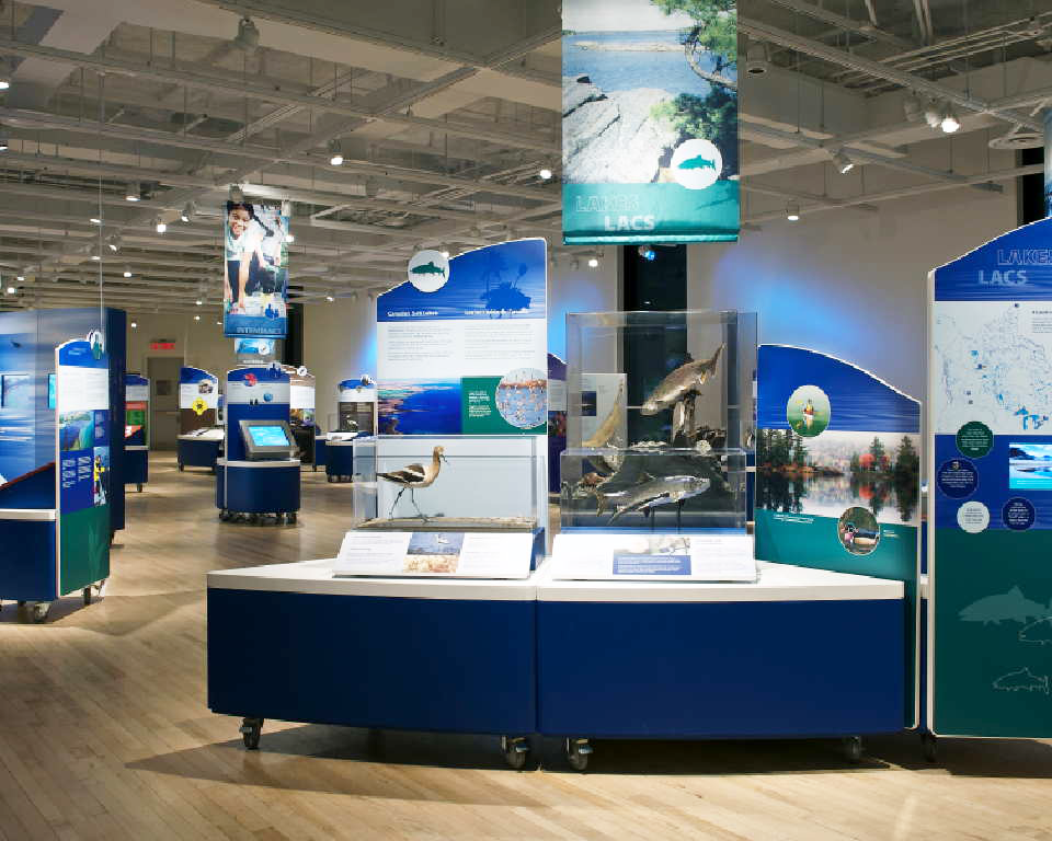 Canada's Waterscapes Exhibit