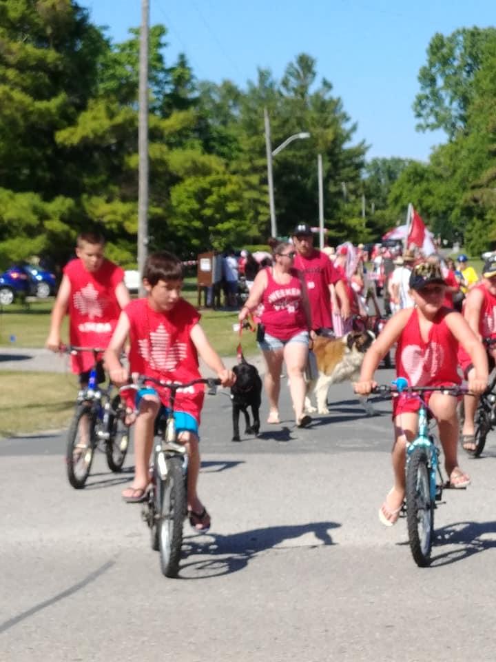 Canada Day Community Walk