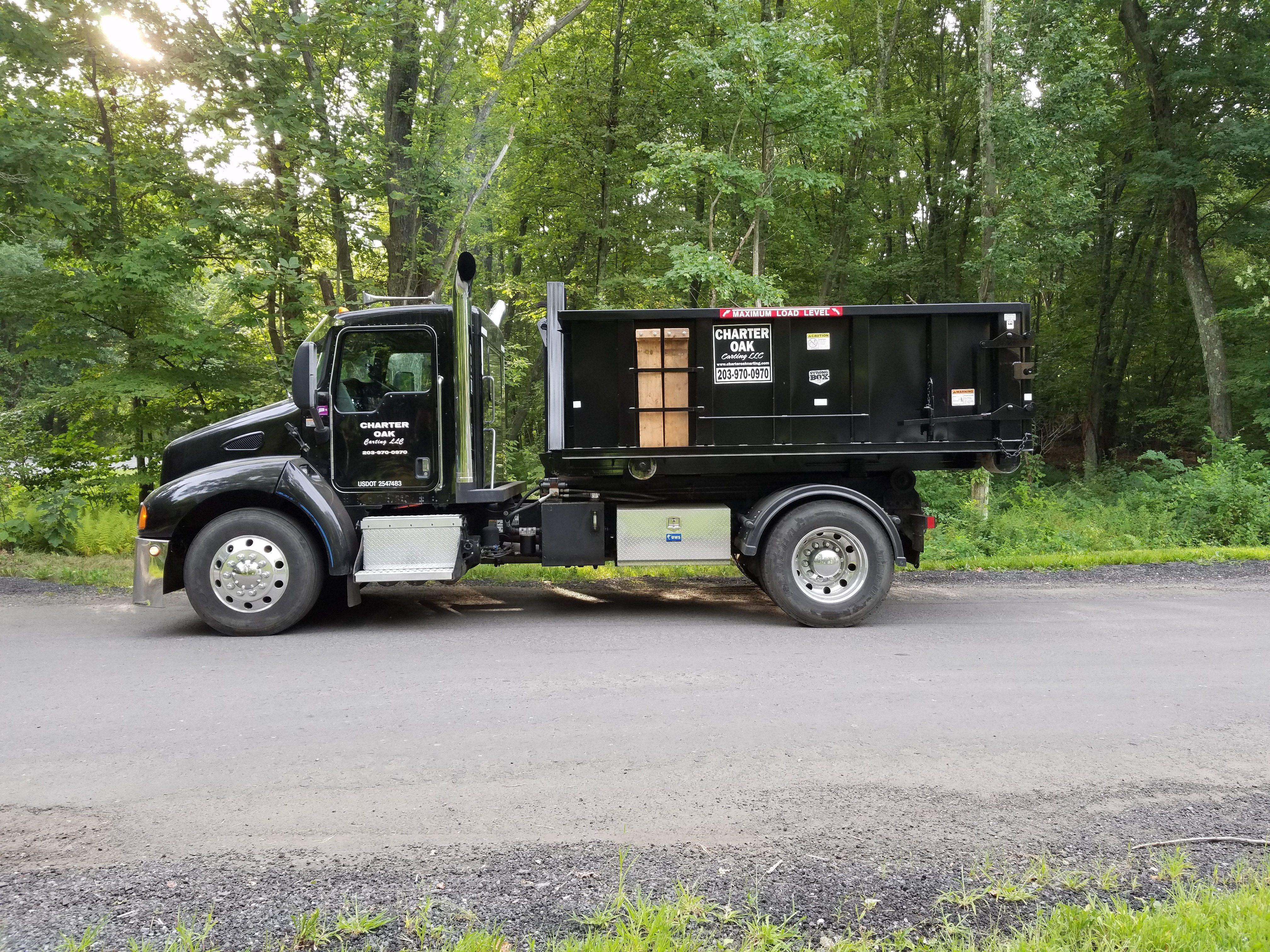 Charter Oak Carting truck