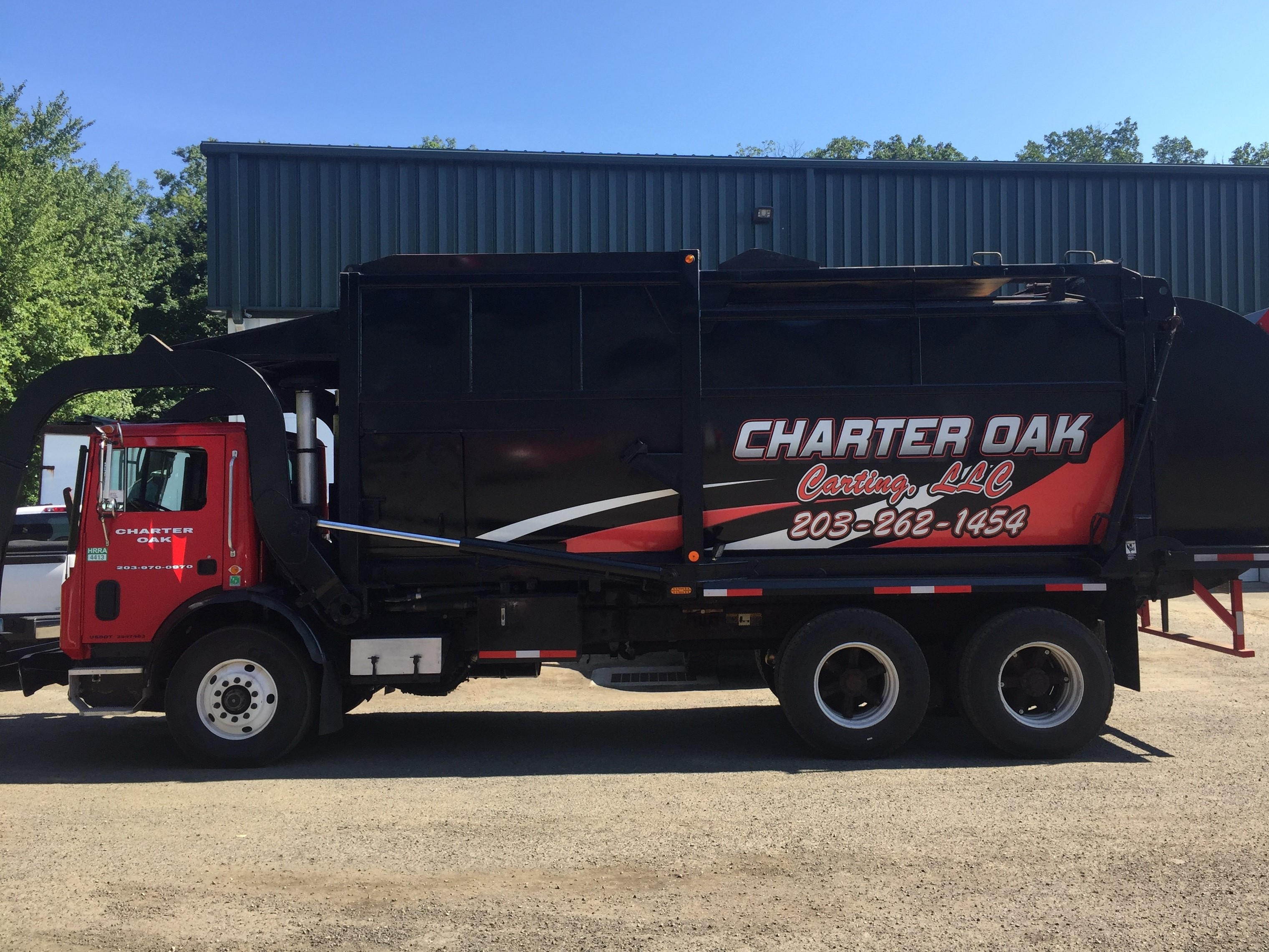 Charter Oak Carting Truck