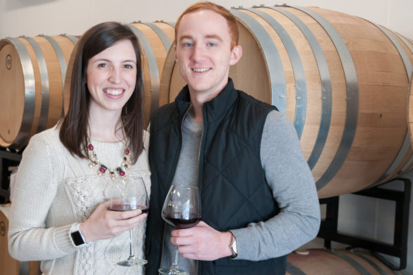 wedding wine at the seven birches winery