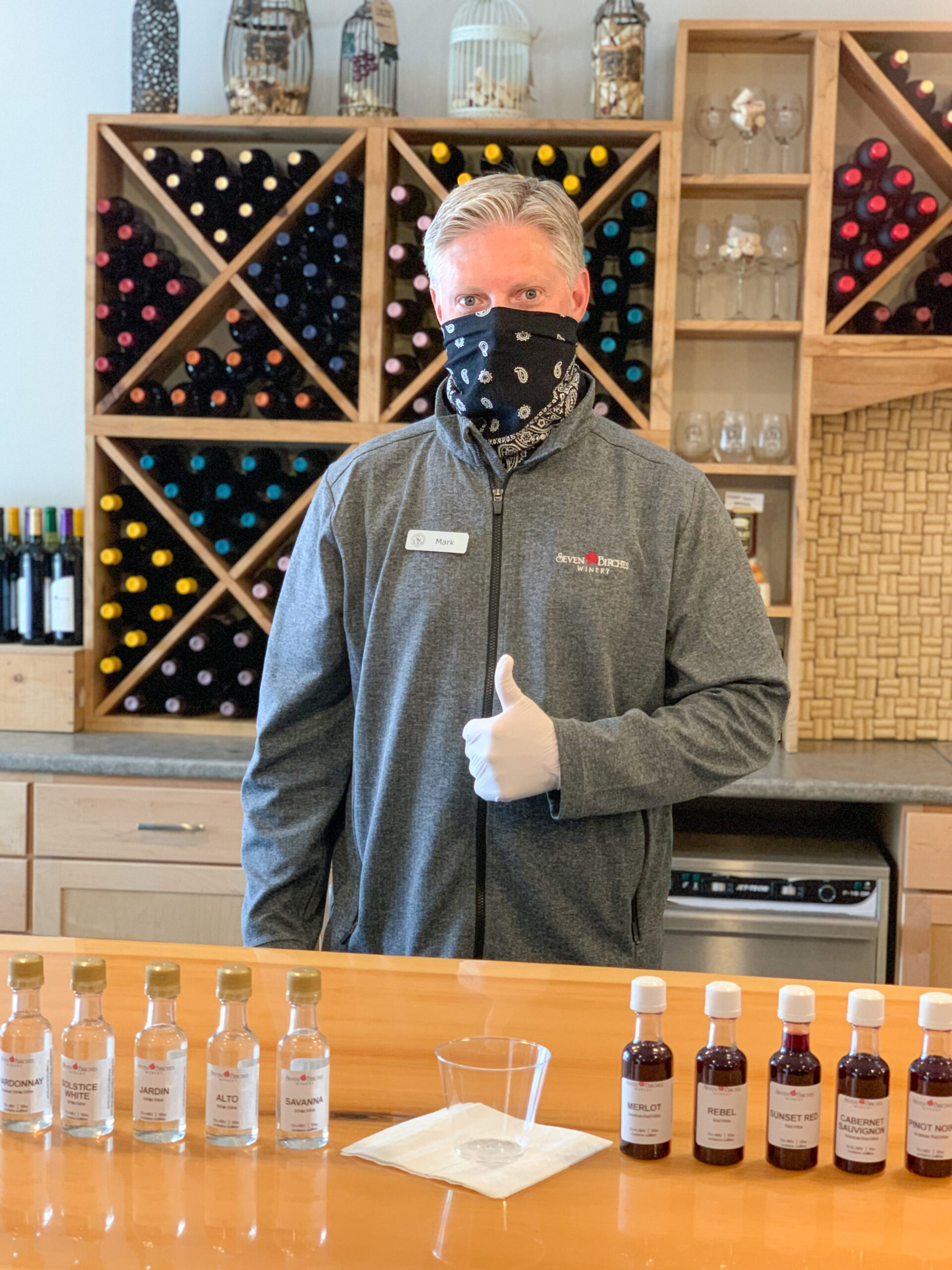 Re-Imagined Tasting Room Experience During COVID-19