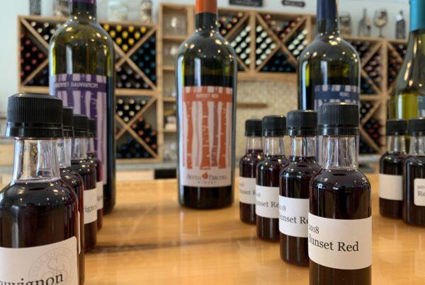 Virtual Wine Tasting Flight