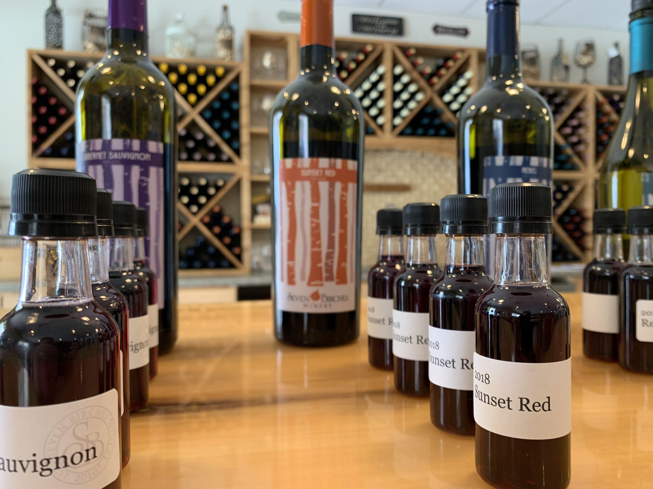 Virtual Wine Tasting Flights