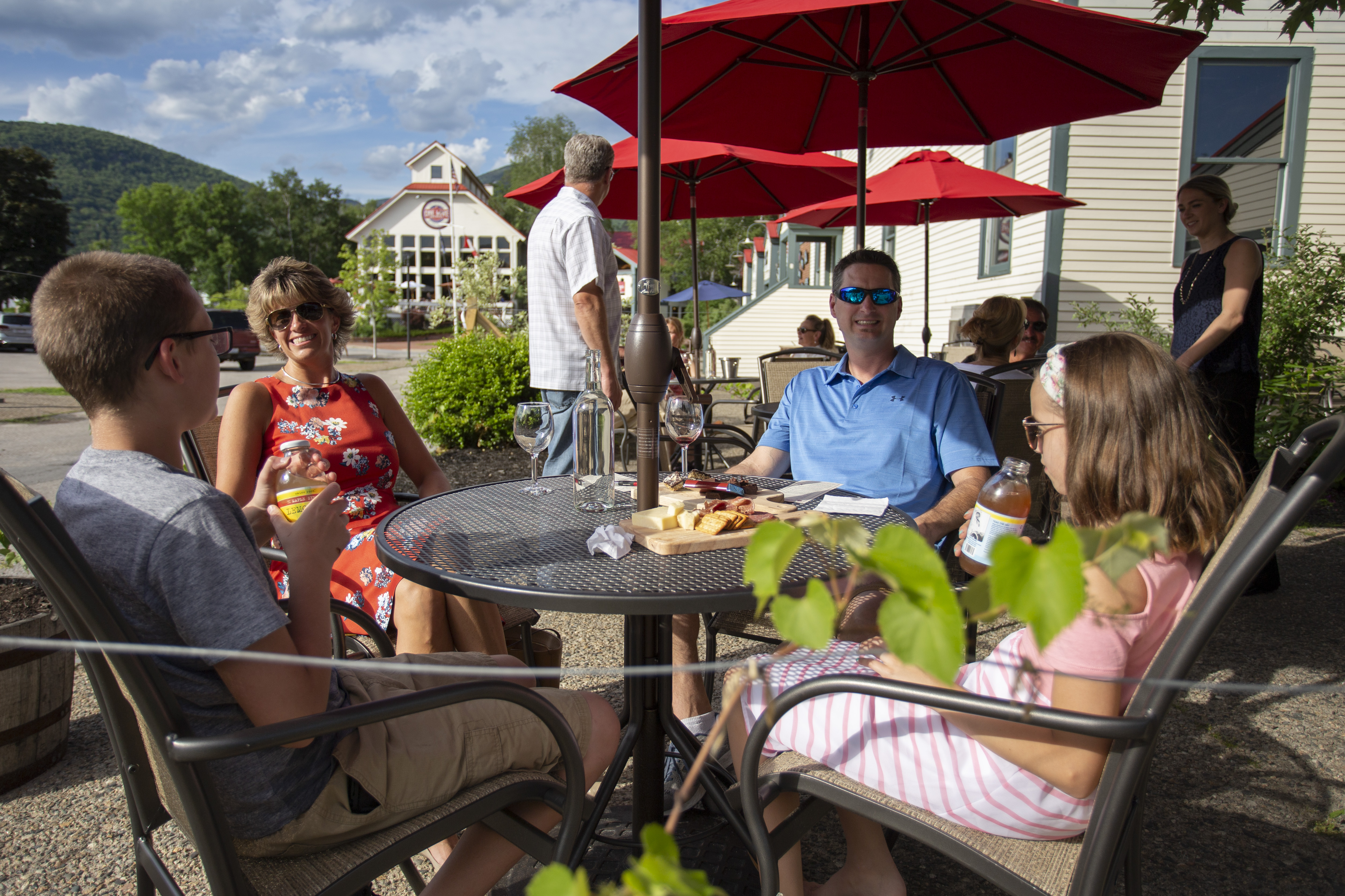 Summer at Seven Birches Winery